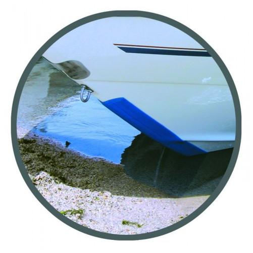 Łódź rybacka Ochrana nosu člna KEELGUARD 2,13 m