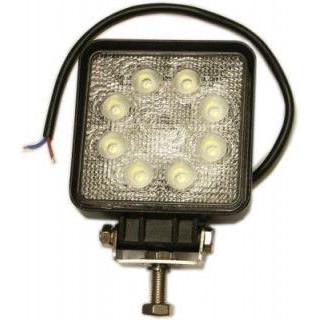 Łódź rybacka Pracovný štvorcový svetlomet LED 8 - 30 V