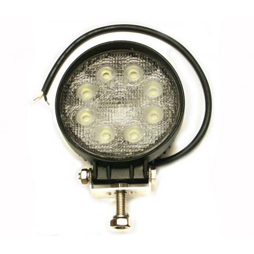 Łódź rybacka Pracovný okrúhly svetlomet LED 8-30V