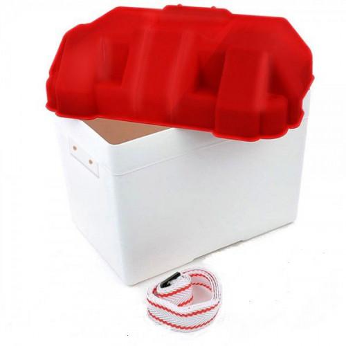 Łódź rybacka Box na batériu 27x19x20 cm