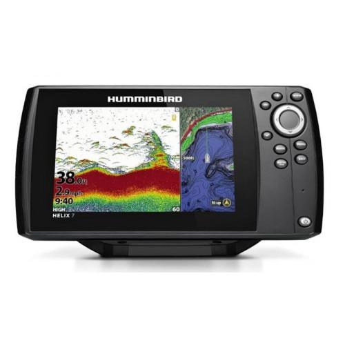 Łódź rybacka Sonar Humminbird Helix 7X CHIRP DS GPS G3N