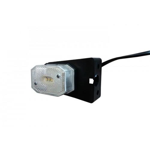 Łódź rybacka Svetlo pozičné LED biele s držiakom QS075