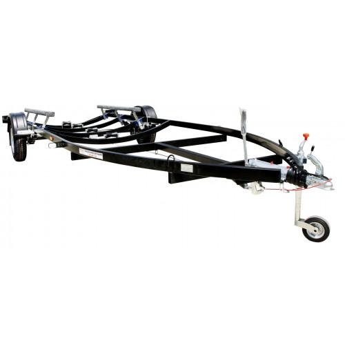 Łódź rybacka FB2-black Prívesný vozík čierny 1500 kg